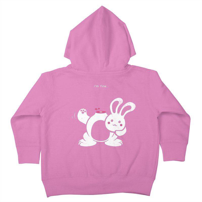 I'm Fine Kids Toddler Zip-Up Hoody by Candy Guru's Shop