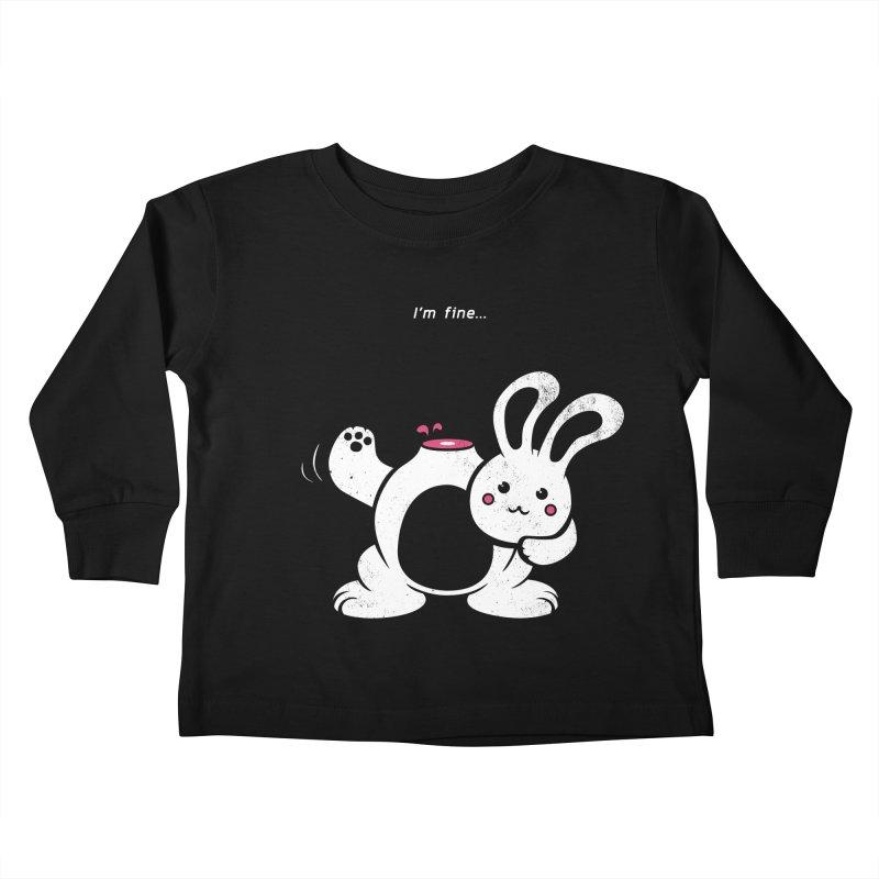 I'm Fine Kids Toddler Longsleeve T-Shirt by Candy Guru's Shop