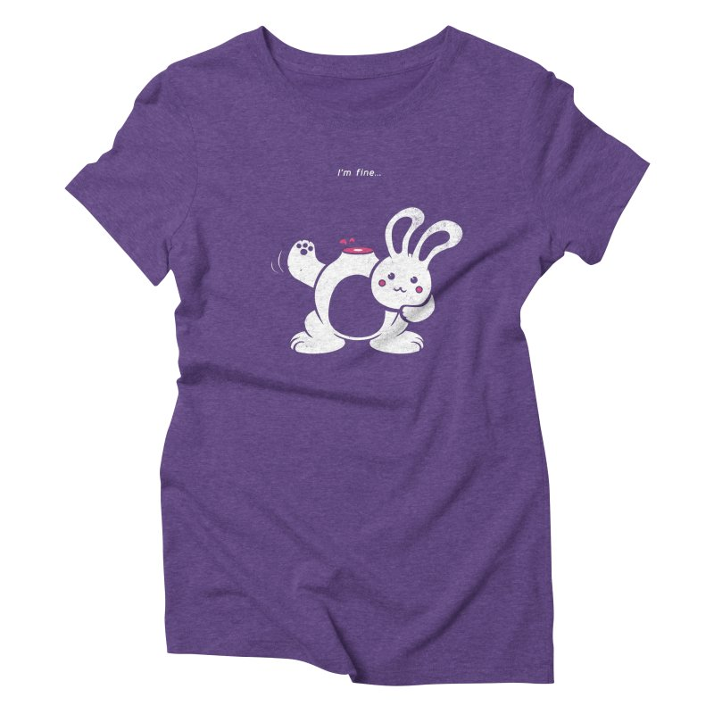 I'm Fine Women's Triblend T-shirt by Candy Guru's Shop