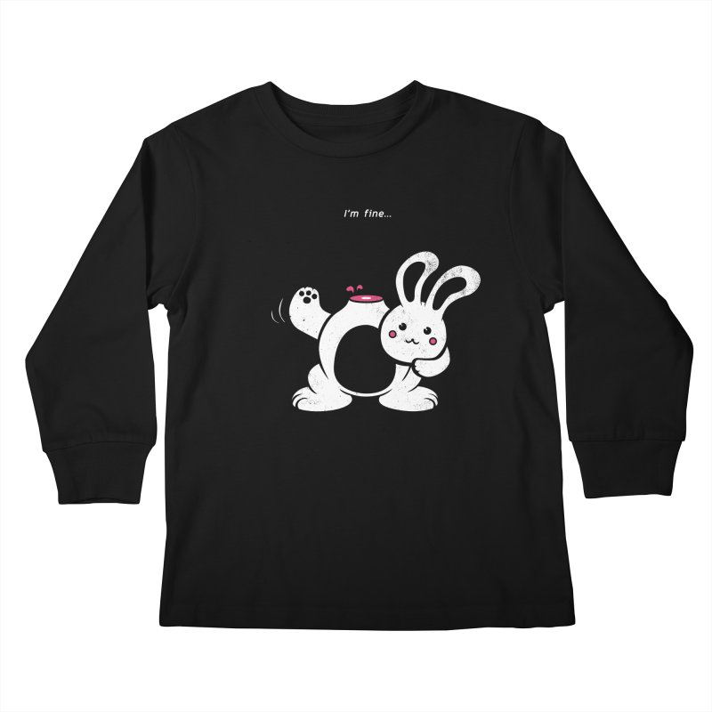 I'm Fine Kids Longsleeve T-Shirt by Candy Guru's Shop