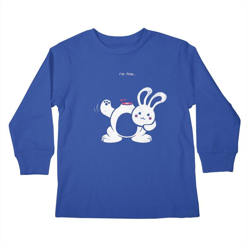 I'm Fine Kids Longsleeve T-Shirt by Candy Guru's Shop