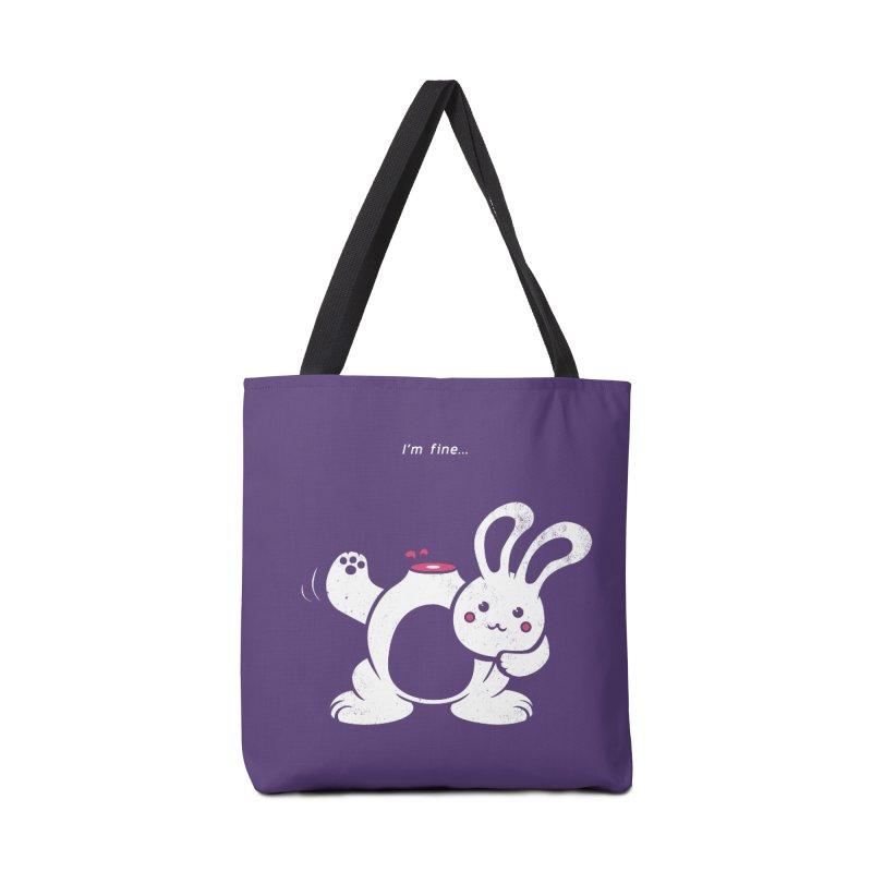 I'm Fine Accessories Bag by Candy Guru's Shop