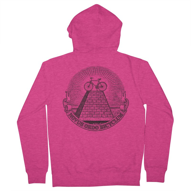 Novus Ordo Bicyclum Women's Zip-Up Hoody by Candy Guru's Shop