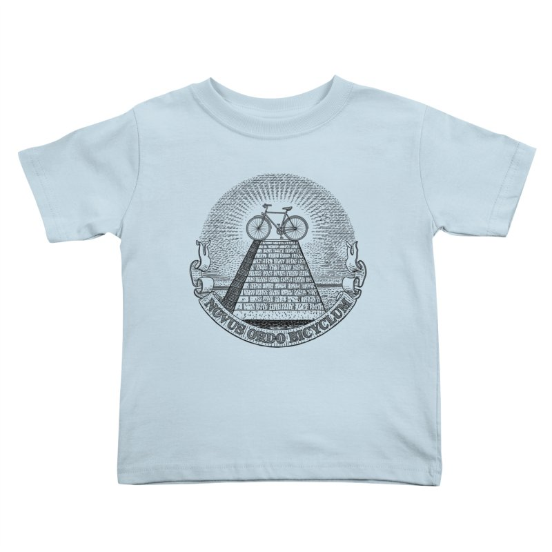Novus Ordo Bicyclum Kids Toddler T-Shirt by Candy Guru's Shop