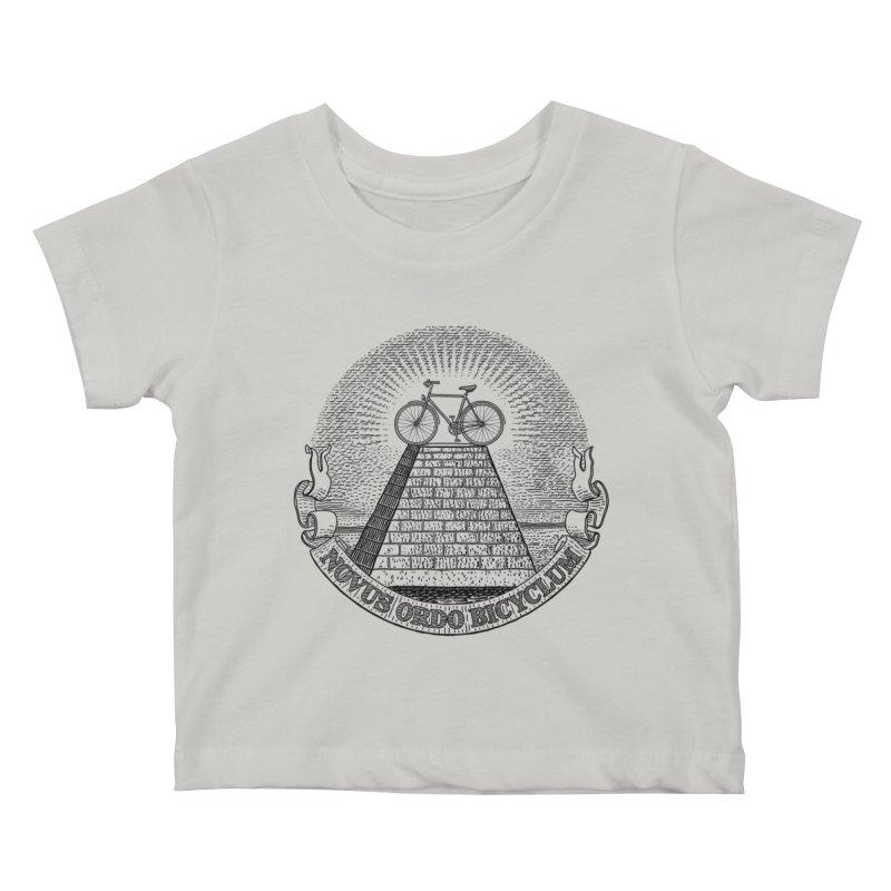 Novus Ordo Bicyclum Kids Baby T-Shirt by Candy Guru's Shop