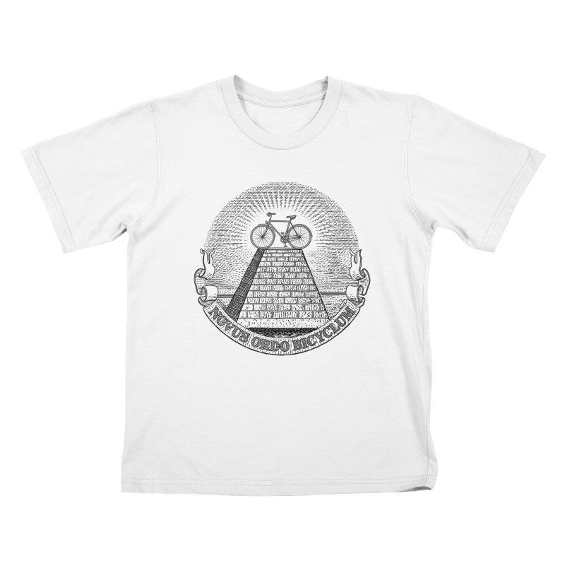 Novus Ordo Bicyclum Kids T-shirt by Candy Guru's Shop
