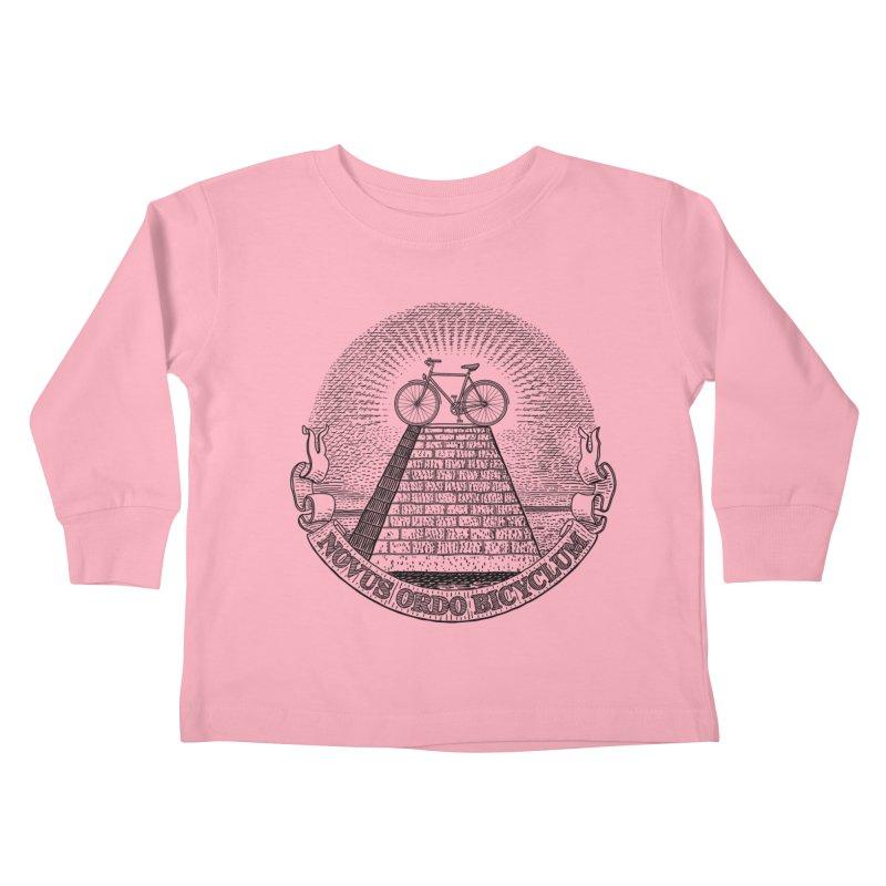 Novus Ordo Bicyclum Kids Toddler Longsleeve T-Shirt by Candy Guru's Shop