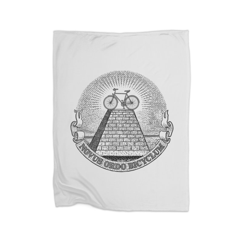 Novus Ordo Bicyclum Home Blanket by Candy Guru's Shop