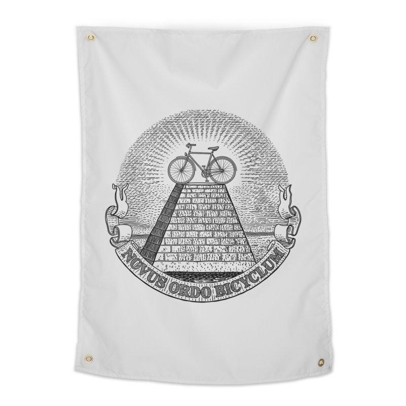 Novus Ordo Bicyclum Home Tapestry by Candy Guru's Shop