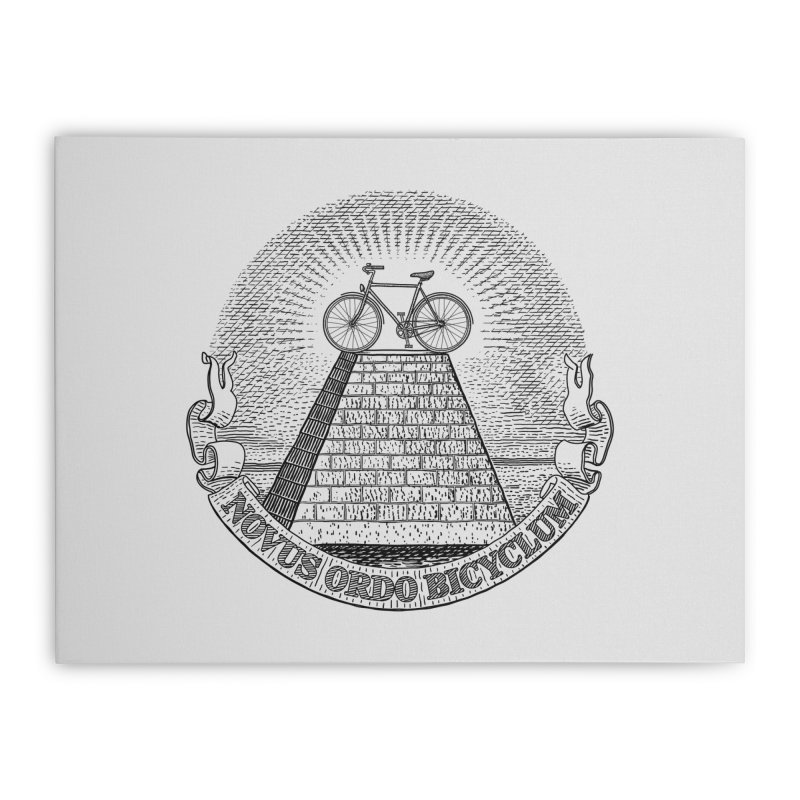 Novus Ordo Bicyclum Home Stretched Canvas by Candy Guru's Shop