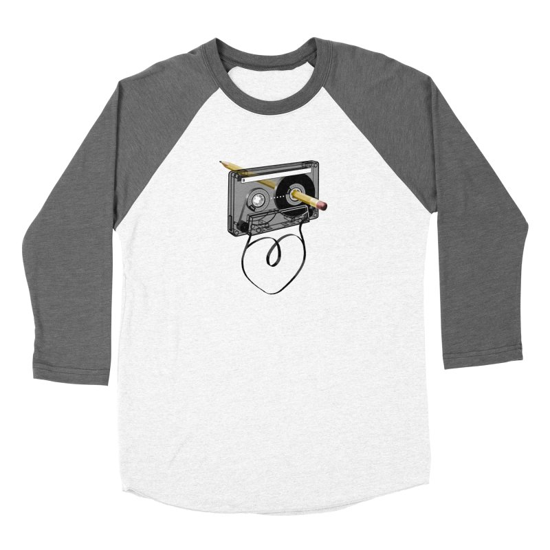 LOOPY Women's Baseball Triblend T-Shirt by capncrushalot's Shop