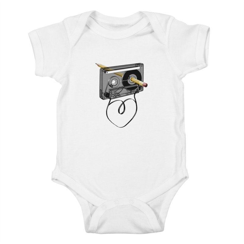 LOOPY Kids Baby Bodysuit by capncrushalot's Shop