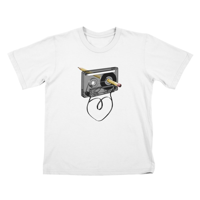 LOOPY Kids T-shirt by capncrushalot's Shop
