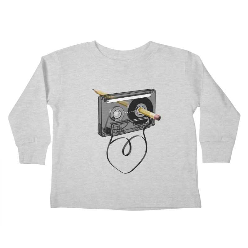 LOOPY Kids Toddler Longsleeve T-Shirt by capncrushalot's Shop