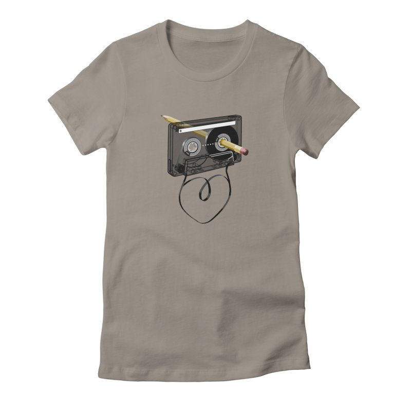 LOOPY Women's Fitted T-Shirt by capncrushalot's Shop