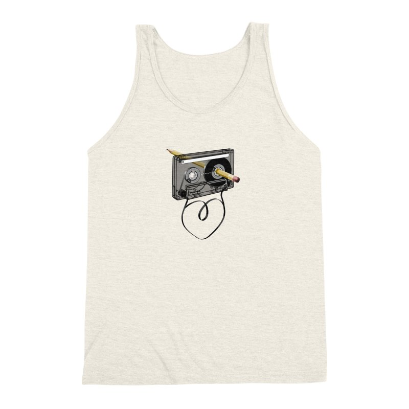 LOOPY Men's Triblend Tank by capncrushalot's Shop