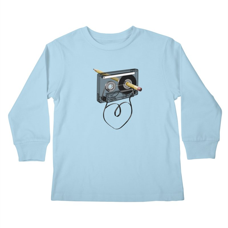 LOOPY Kids Longsleeve T-Shirt by capncrushalot's Shop
