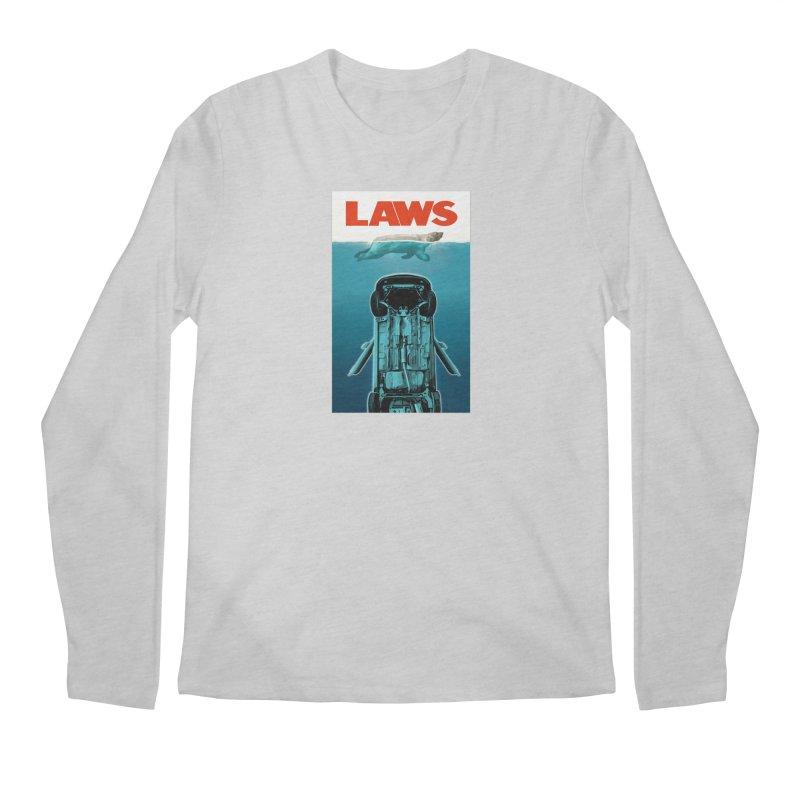 LAWS Men's Longsleeve T-Shirt by capncrushalot's Shop