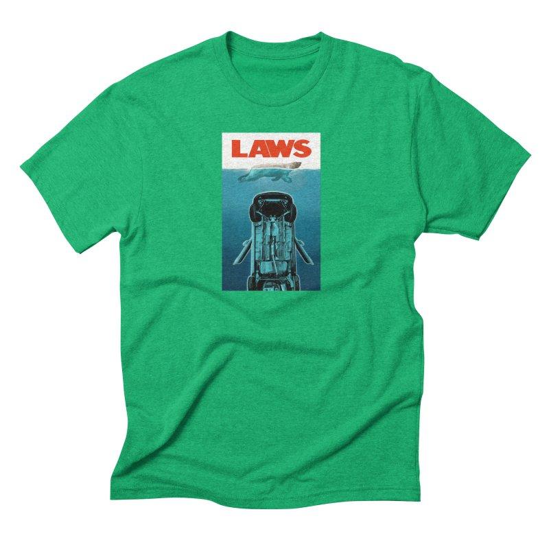 LAWS Men's Triblend T-Shirt by capncrushalot's Shop