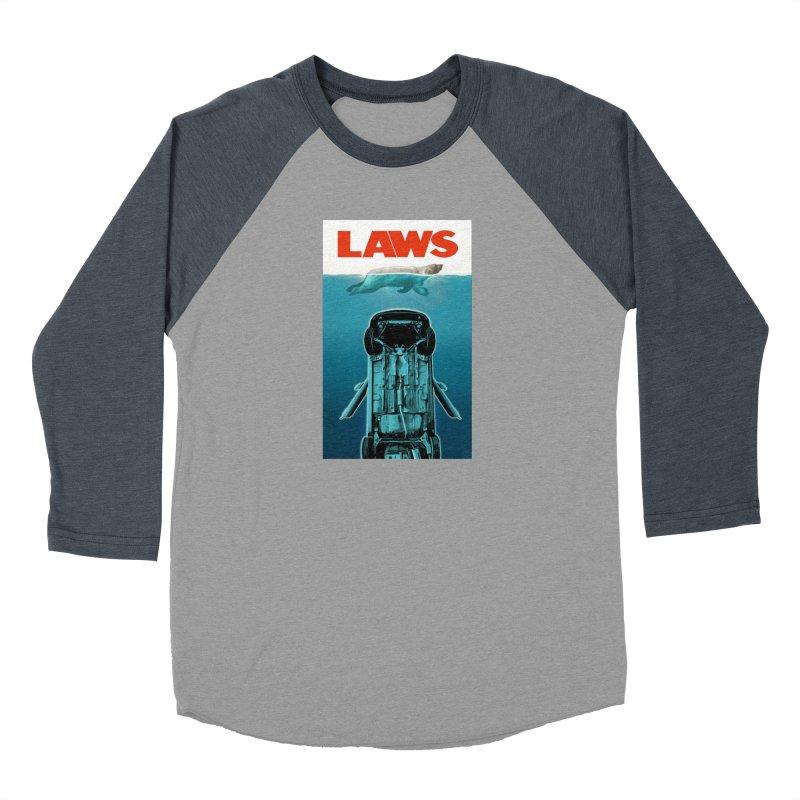 LAWS Men's Baseball Triblend T-Shirt by capncrushalot's Shop
