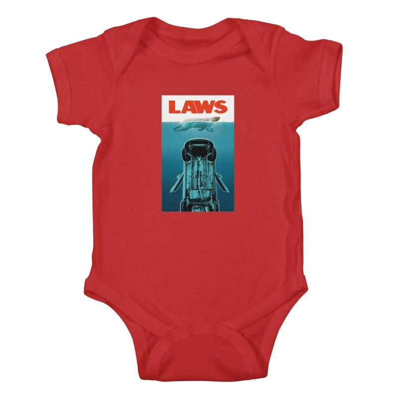 LAWS Kids Baby Bodysuit by capncrushalot's Shop
