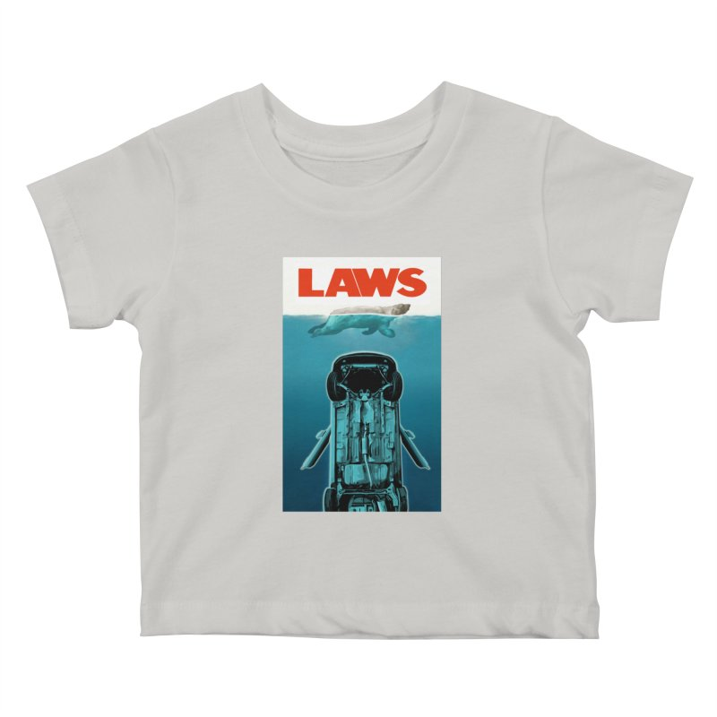 LAWS Kids Baby T-Shirt by capncrushalot's Shop