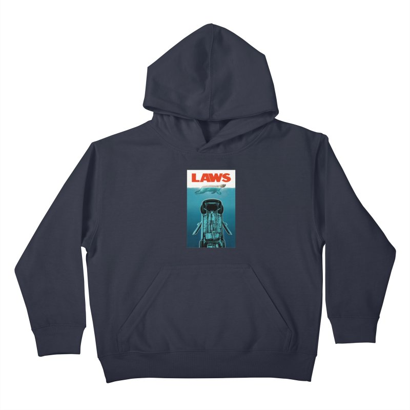 LAWS Kids Pullover Hoody by capncrushalot's Shop