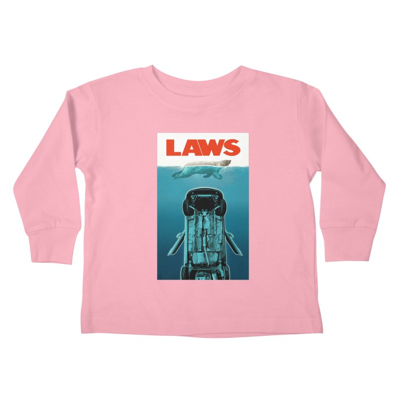LAWS Kids Toddler Longsleeve T-Shirt by capncrushalot's Shop