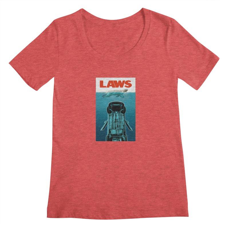 LAWS Women's Scoopneck by capncrushalot's Shop