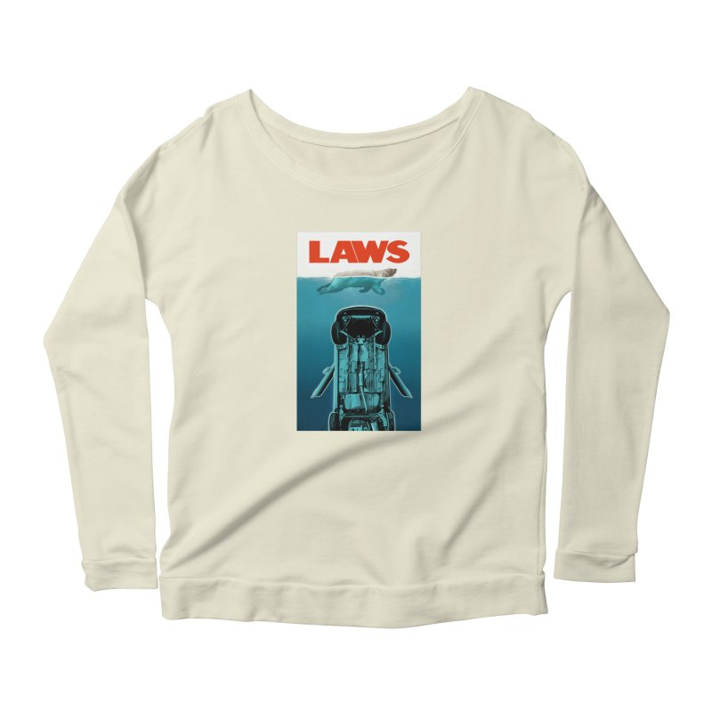 LAWS Women's Longsleeve Scoopneck  by capncrushalot's Shop