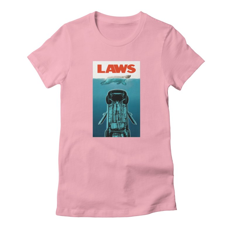 LAWS Women's Fitted T-Shirt by capncrushalot's Shop