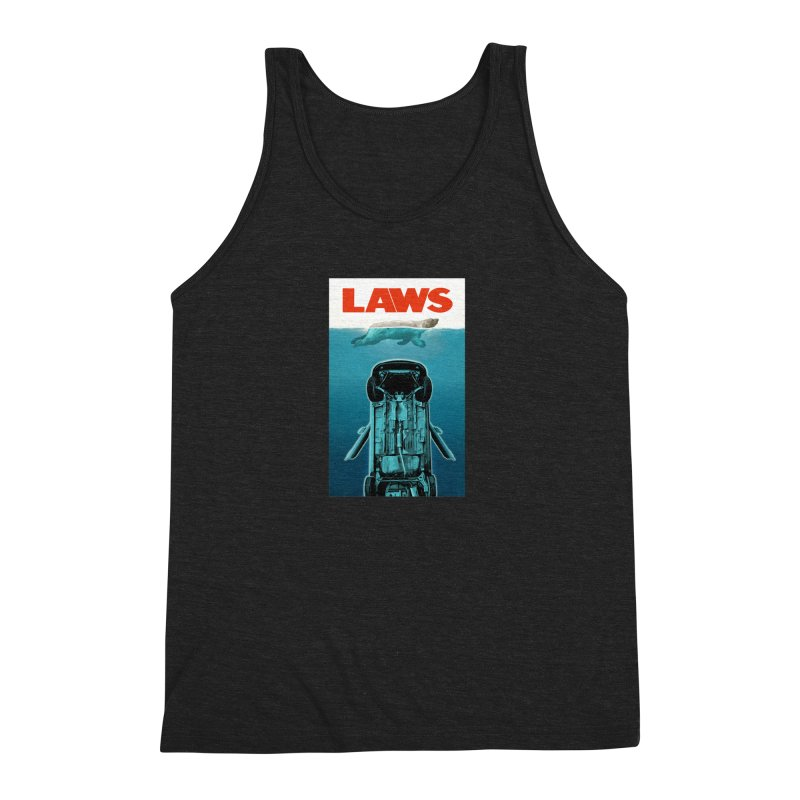 LAWS Men's Triblend Tank by capncrushalot's Shop