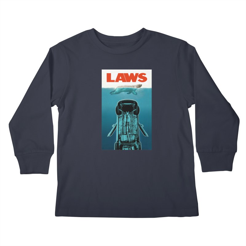 LAWS Kids Longsleeve T-Shirt by capncrushalot's Shop