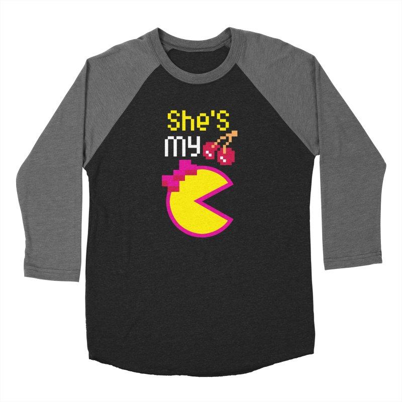 My Cherry Pie Men's Baseball Triblend T-Shirt by capncrushalot's Shop