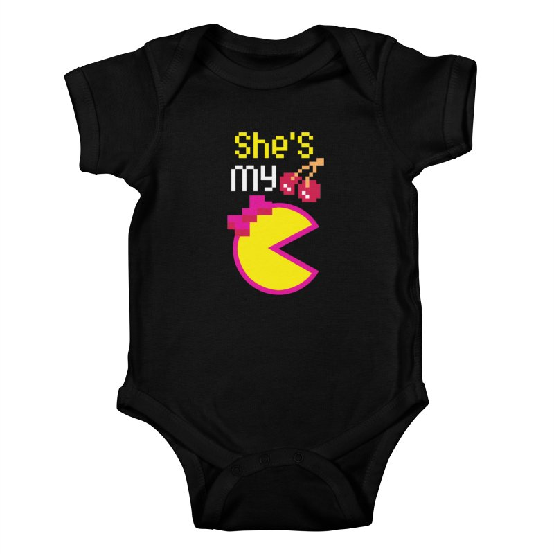My Cherry Pie Kids Baby Bodysuit by capncrushalot's Shop