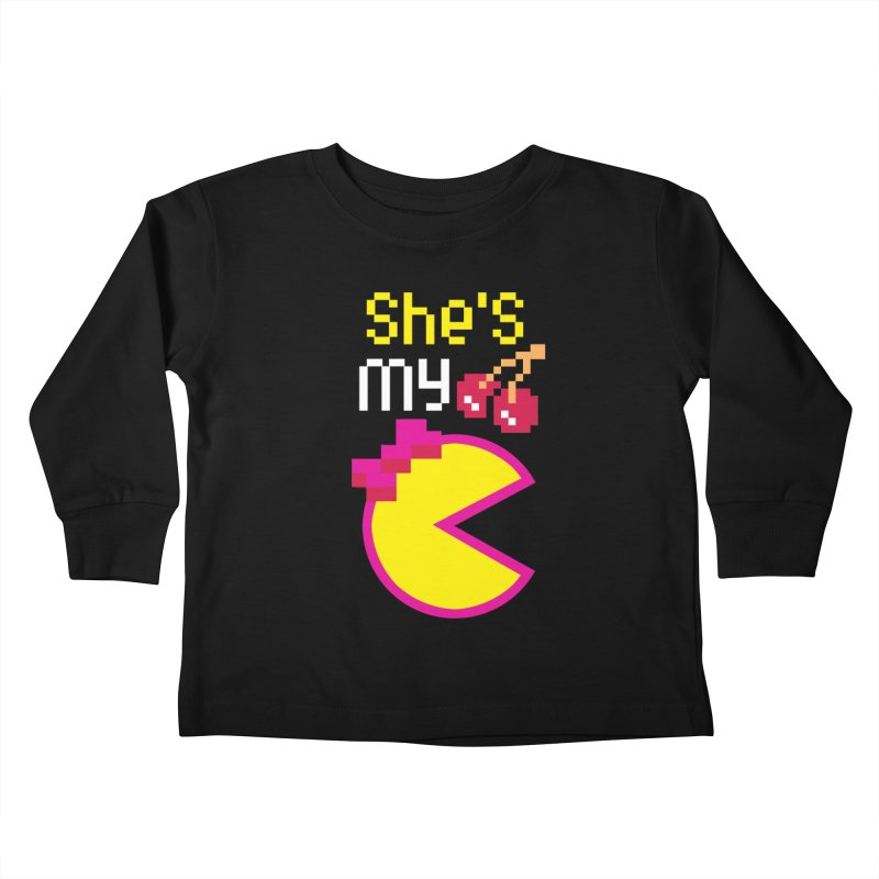 My Cherry Pie Kids Toddler Longsleeve T-Shirt by capncrushalot's Shop