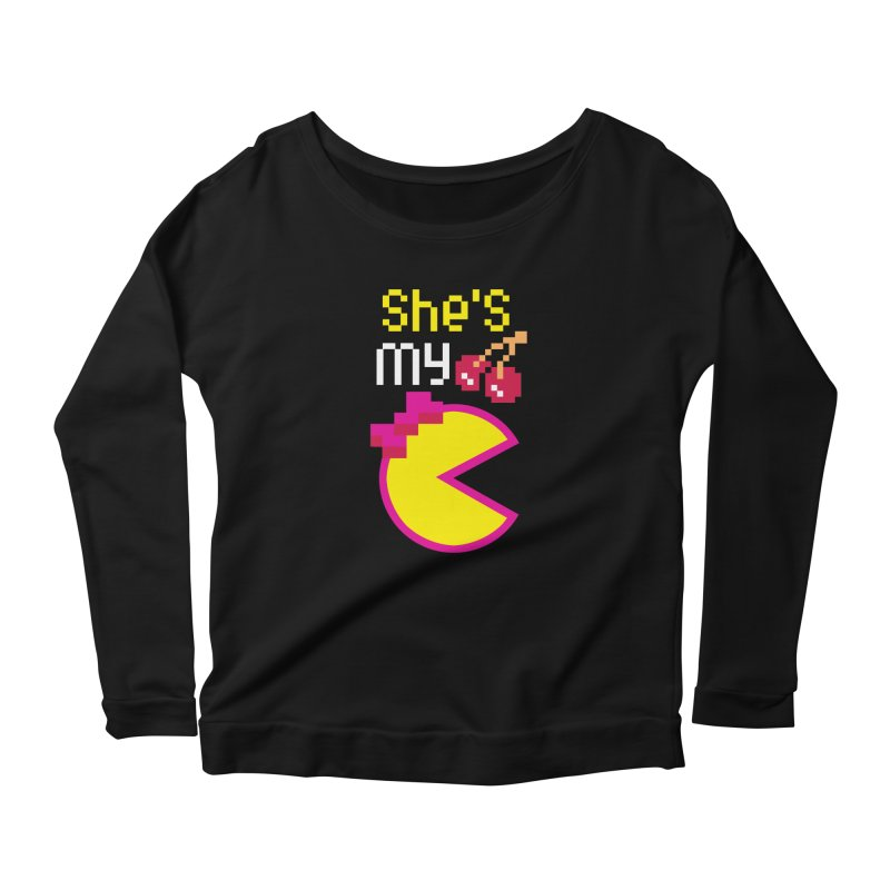 My Cherry Pie Women's Longsleeve Scoopneck  by capncrushalot's Shop