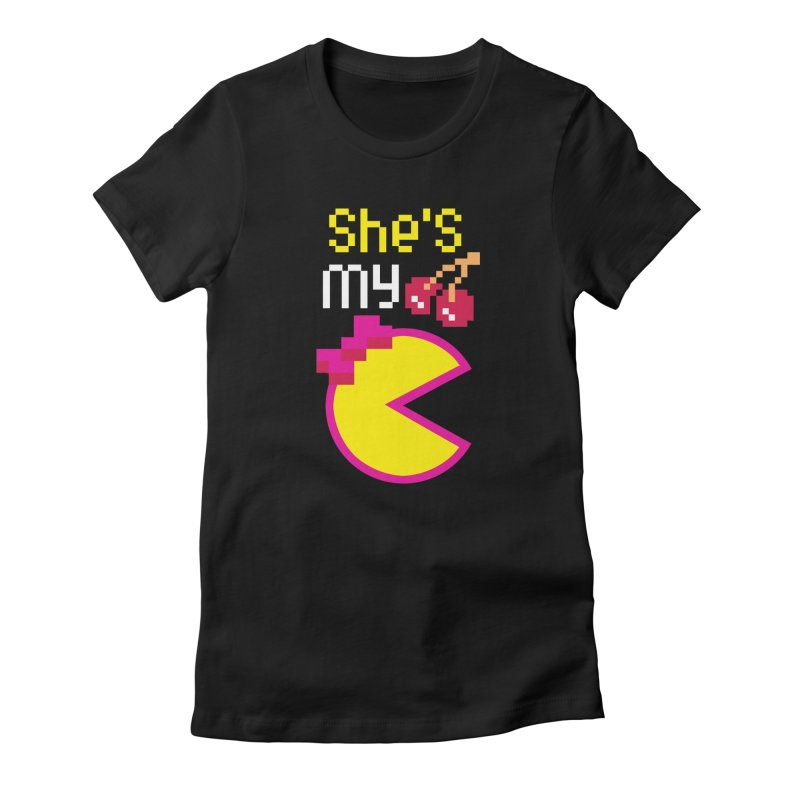 My Cherry Pie Women's Fitted T-Shirt by capncrushalot's Shop