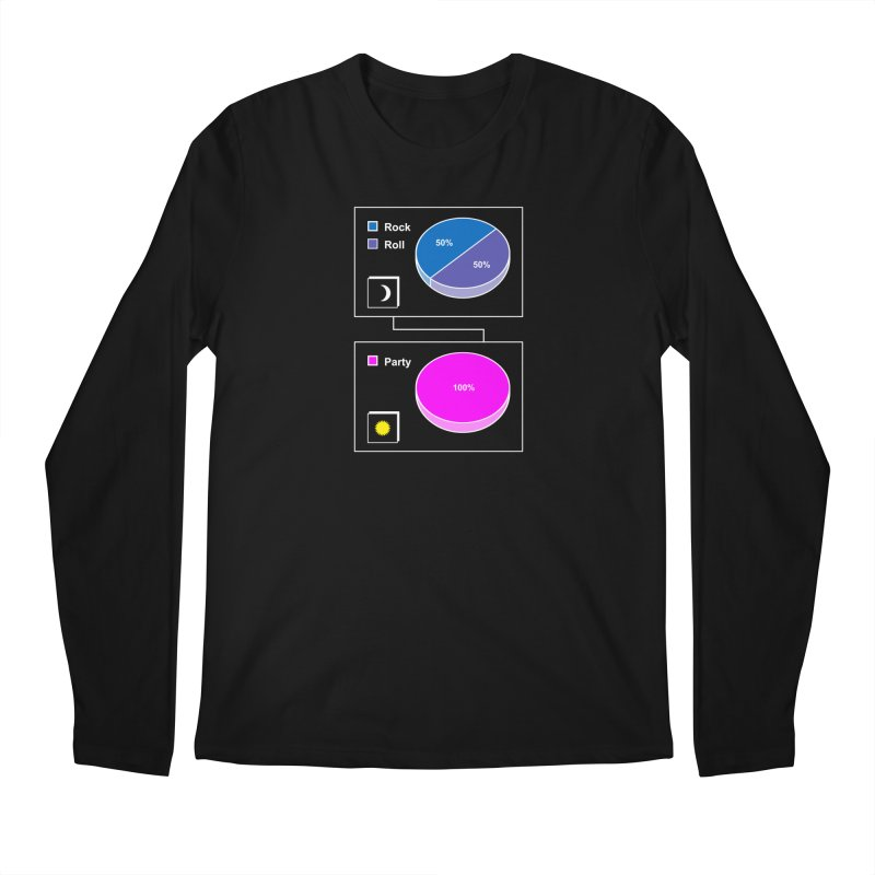 Rock&RollPartyPies Men's Longsleeve T-Shirt by capncrushalot's Shop