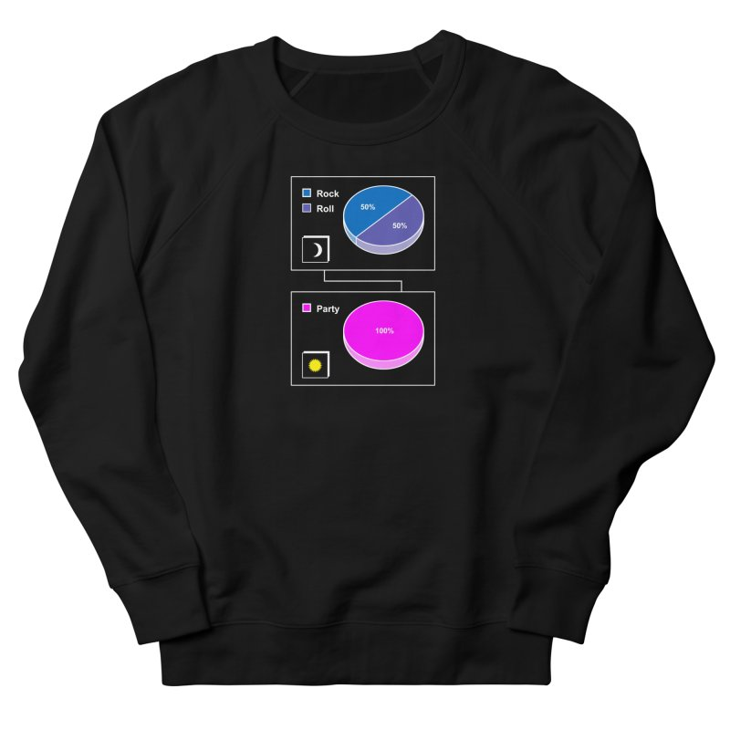 Rock&RollPartyPies Women's Sweatshirt by capncrushalot's Shop