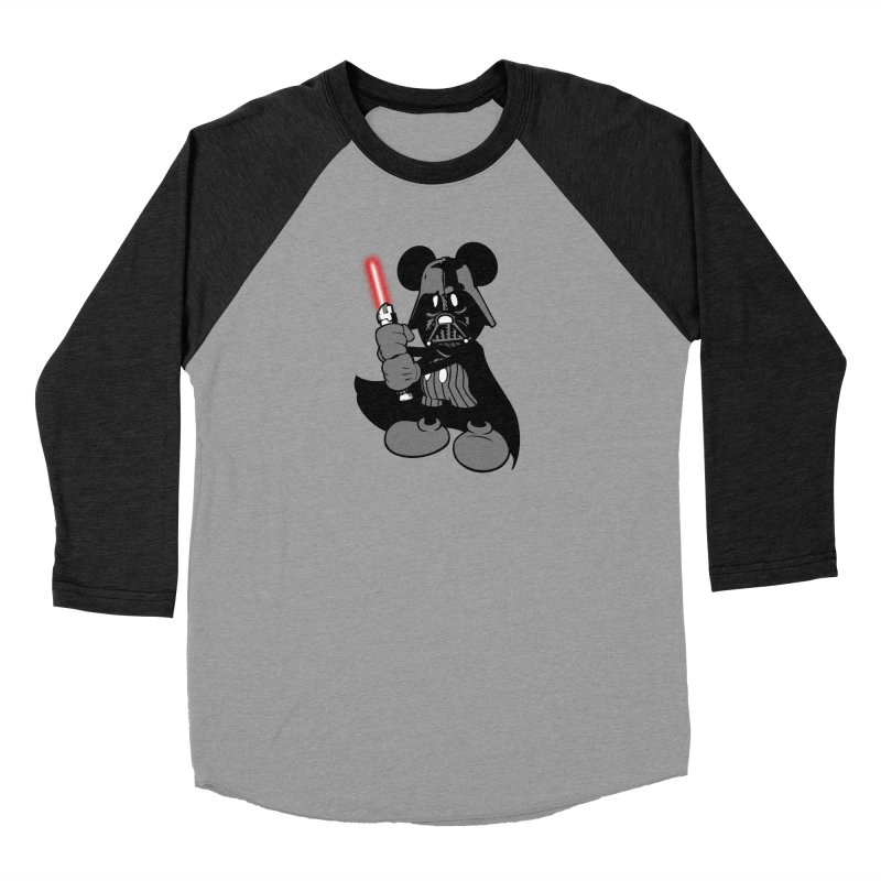 DarthMouse Men's Baseball Triblend T-Shirt by capncrushalot's Shop