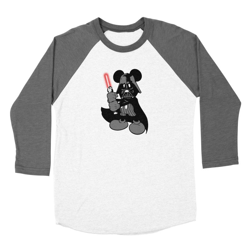 DarthMouse Men's Baseball Triblend T-Shirt by capncrushalot's Shop