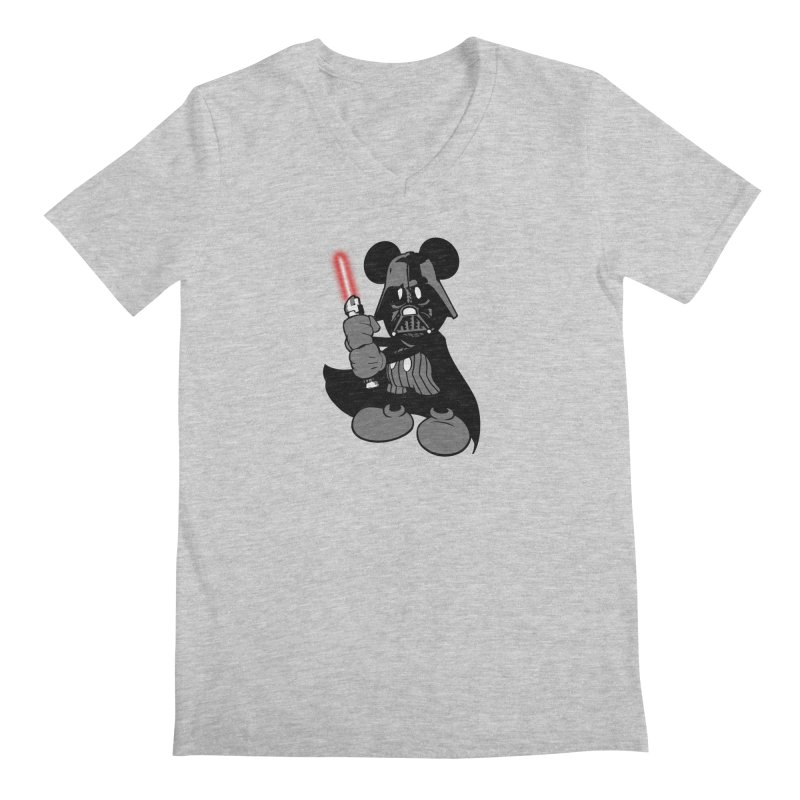 DarthMouse Men's V-Neck by capncrushalot's Shop
