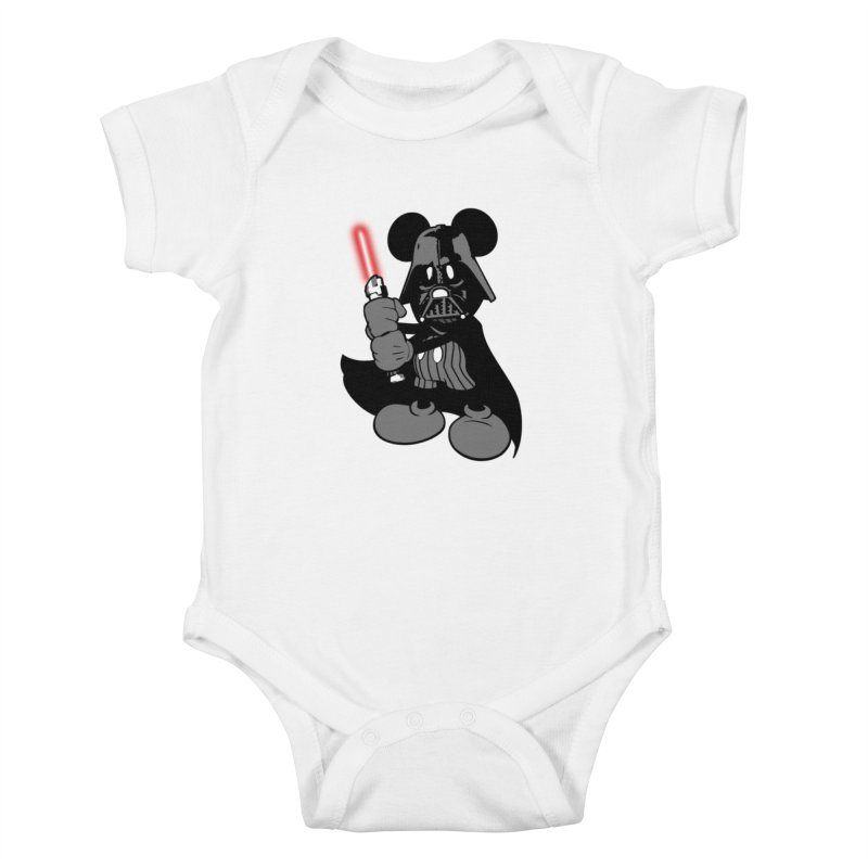 DarthMouse Kids Baby Bodysuit by capncrushalot's Shop