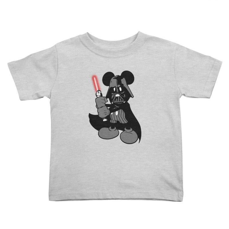 DarthMouse Kids Toddler T-Shirt by capncrushalot's Shop
