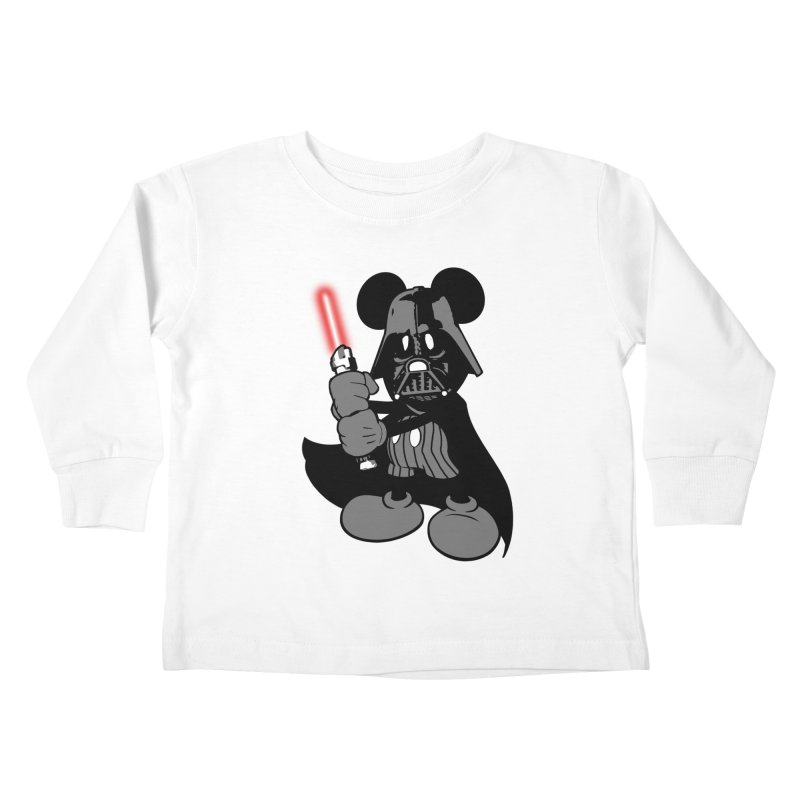 DarthMouse Kids Toddler Longsleeve T-Shirt by capncrushalot's Shop