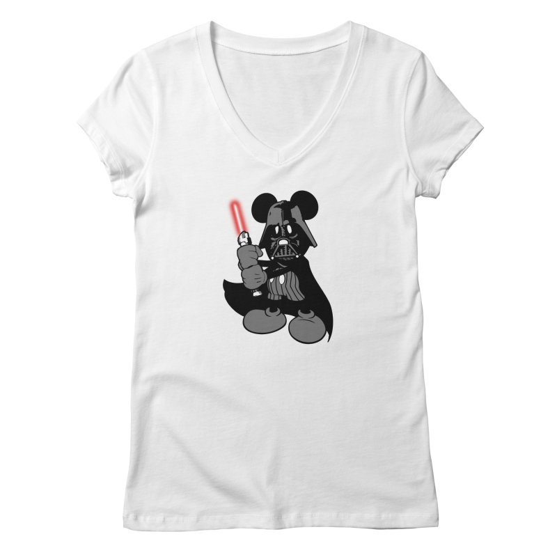 DarthMouse Women's V-Neck by capncrushalot's Shop