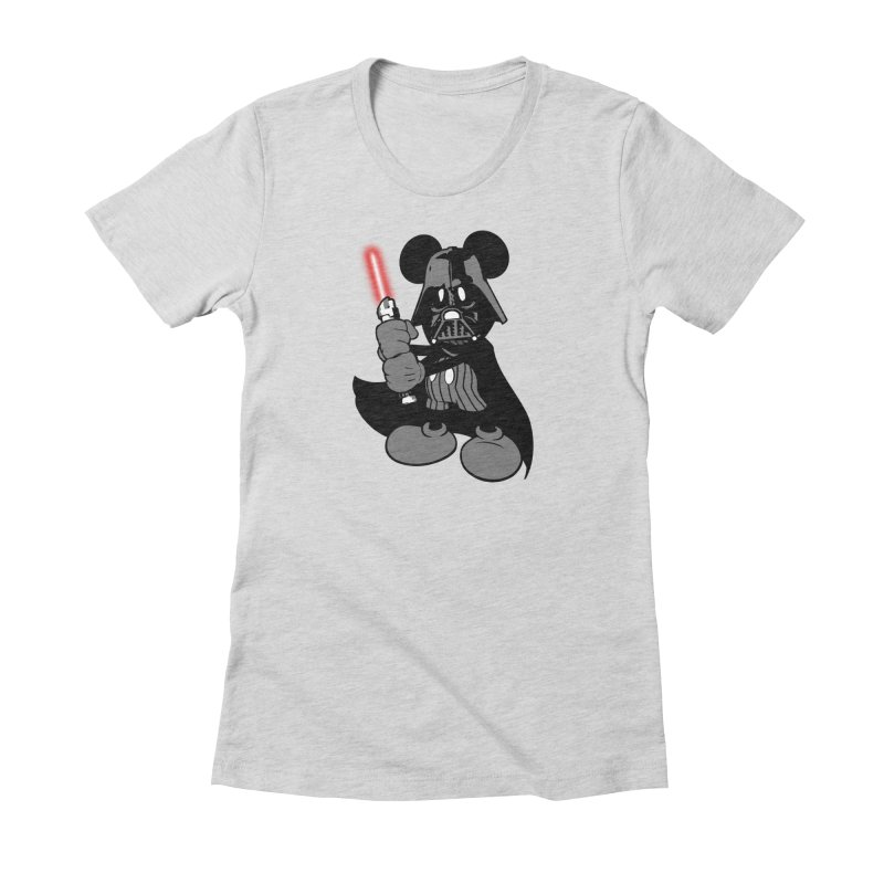 DarthMouse Women's Fitted T-Shirt by capncrushalot's Shop