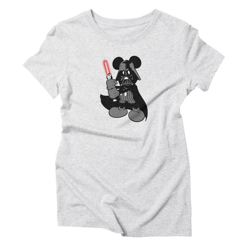 DarthMouse Women's Triblend T-Shirt by capncrushalot's Shop