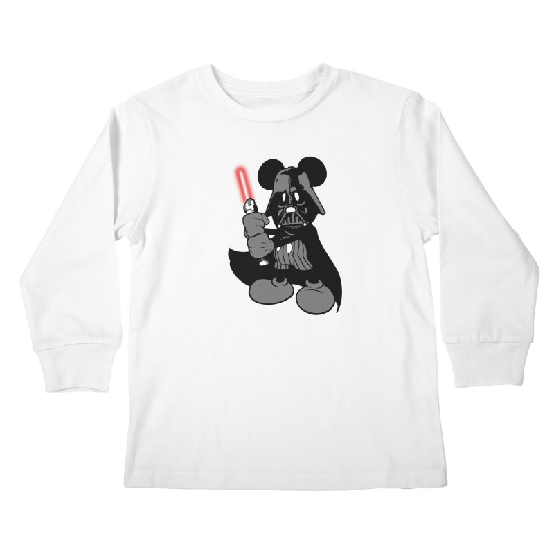 DarthMouse Kids Longsleeve T-Shirt by capncrushalot's Shop
